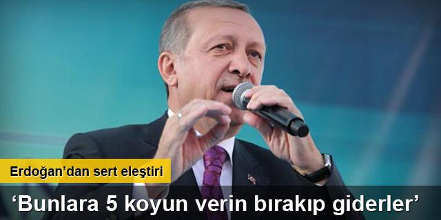Erdoğan Aksaray'da konuştu