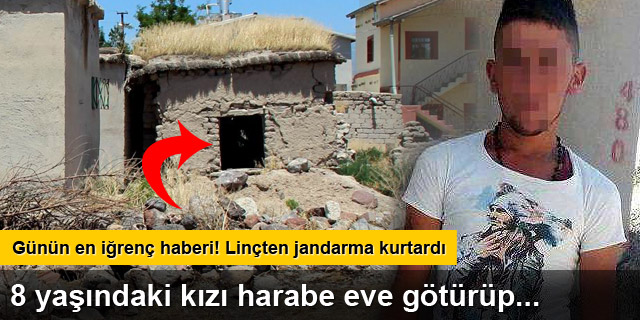 Kayseri'de tecavüz zanlısına linç girişimi