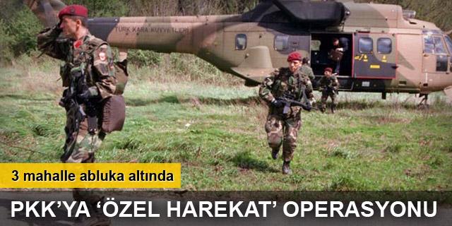 Ağrı'da 3 PKK'lı terörist öldürüldü
