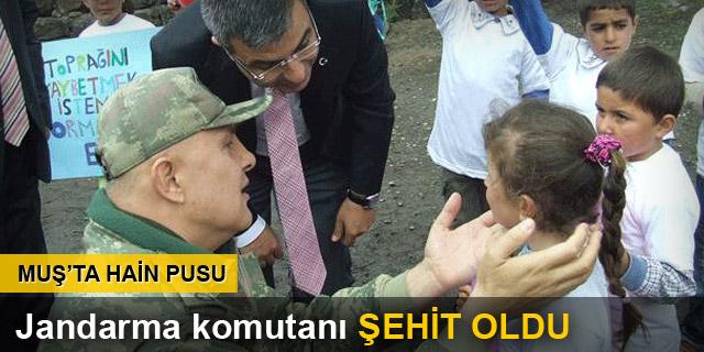 Malazgirt Jandarma Komutanı şehit oldu