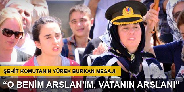 Şehit Binbaşı Kulaksız'ı eşi asker selamıyla uğurladı
