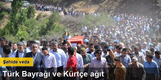 Şehit er Mansur Cengiz, Kürtçe ağıtlarla toprağa verildi