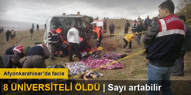 Afyonkarahisar'da kaza: 8 ölü
