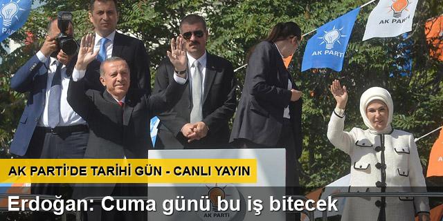 Erdoğan'ın veda kongresi