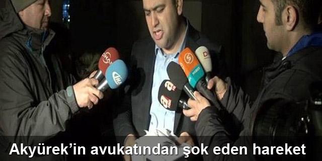 Akyürek'in avukatı TCK kitabını yırttı