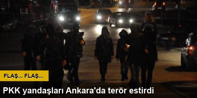 Ankara'da olaylı gece