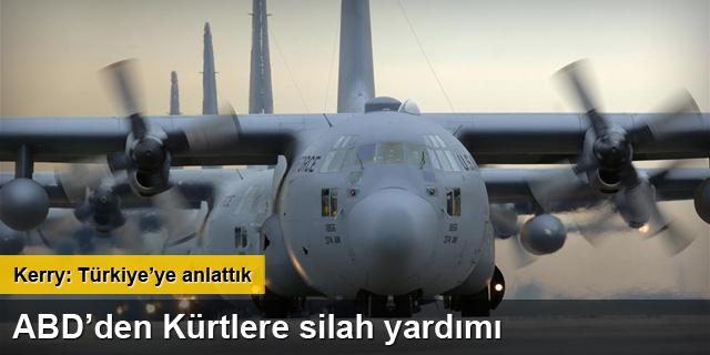 Kürtlere silah bu uçakla gitti