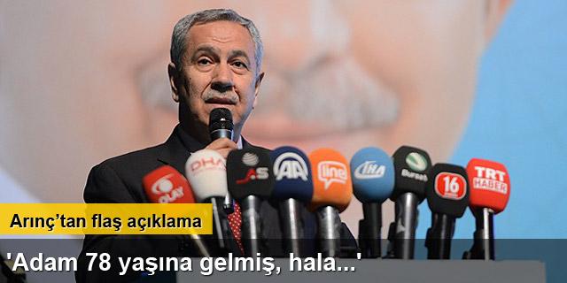 Bülent Arınç: '13 senede 9 seçim kazanmış bir siyasi partiyiz'