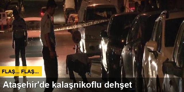 Ataşehir'de kalaşnikof sesleri