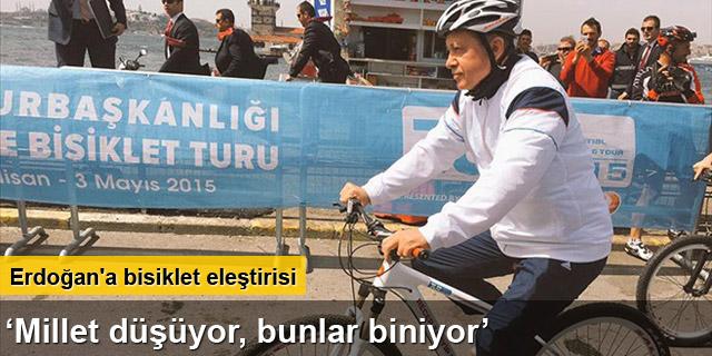 Bahçeli'den Erdoğan'a bisiklet eleştirisi