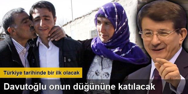 PKK'dan ayrılan genç, Davutoğlu'nu düğününe bekliyor