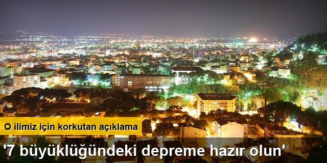 AFAD İl Müdürü Recep Coşkun: Aydın'da deprem kaçınılmaz