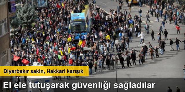 Diyarbakır'da 1 Kasım Kobani yürüyüşü