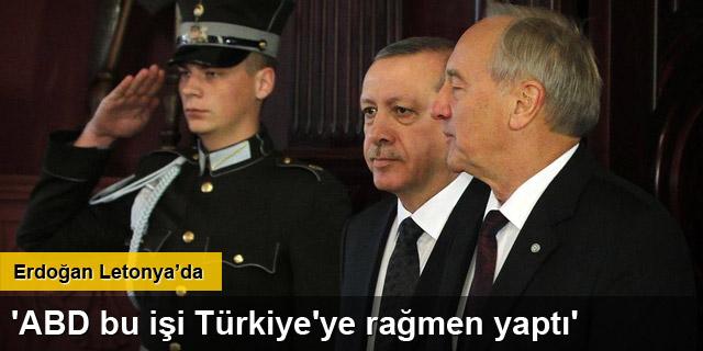 'ABD bu işi Türkiye'ye rağmen yaptı'