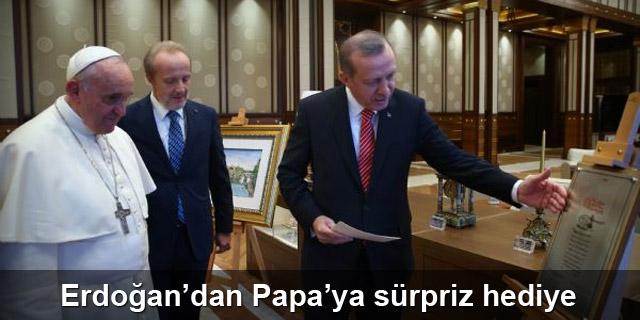 Erdoğan'dan Papa'ya Fatih'in fermanı