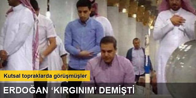 Erdoğan, Hakan Fidan'la Medine'de görüşmüş
