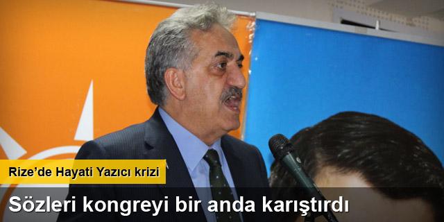 Hayati Yazıcı'nın sözleri AK Parti kongresini karıştırdı