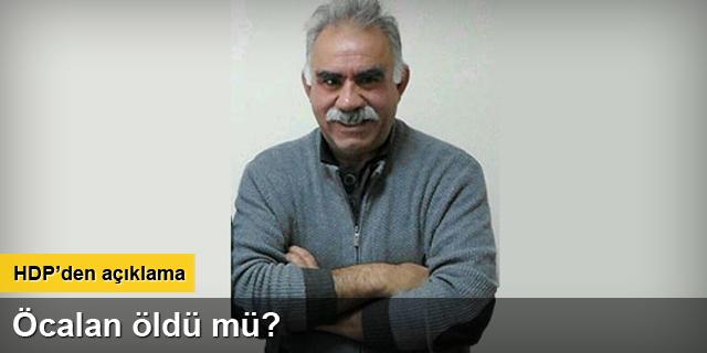 HDP heyetinden Öcalan açıklaması