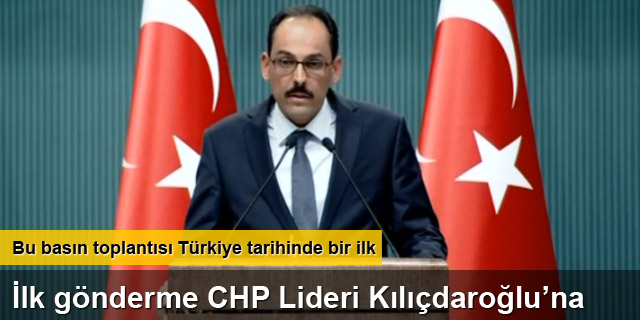 Türkiye tarihinde bir ilk