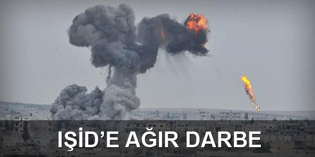 IŞİD, Suriye ve Irak'ta bombalandı