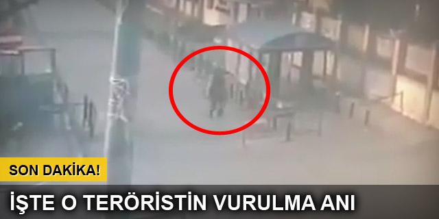 İstanbul Emniyeti'ne saldırı anı kamerada