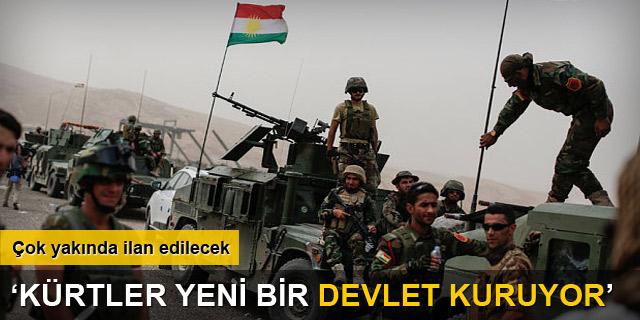 'Kürtler, yeni bir devlet kuruyor'
