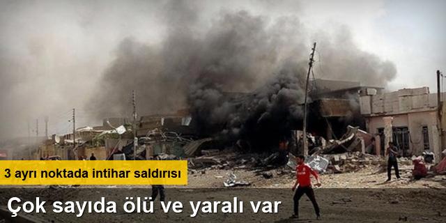Kerkük'te 3 ayrı yerde bombalı saldırı