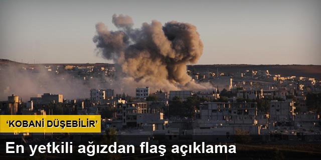 'Durum değişken Kobani düşebilir'