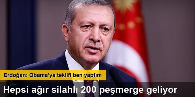 Kobani'ye 200 peşmerge
