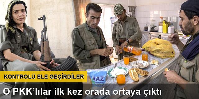 Mahmur Kampı'ndaki PKK'lılar ilk kez görüntülendi