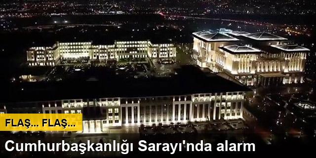 Cumhurbaşkanlığı Sarayı çevresinde şüpheli şahıs alarmı