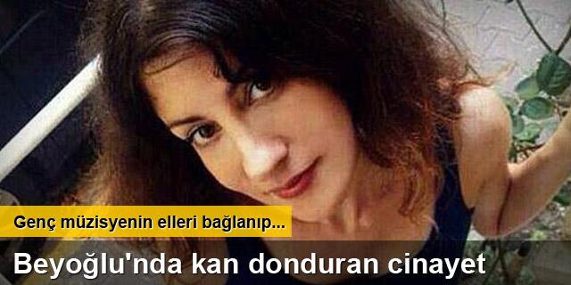 Beyoğlu'nda müzisyen cinayeti